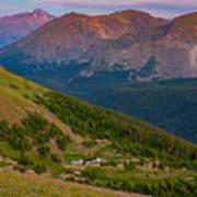 Rocky Mountain Wilderness Art Print