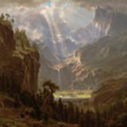 Rocky Mountains, Lander's Peak Art Print