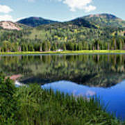 Rocky Mountains Majesty Art Print