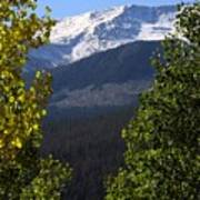 Rocky Mountains Mtn M 207 Art Print