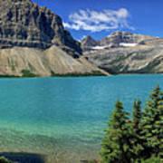 Rocky Mountains Panorama Art Print