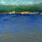 Rocky Point Dream At Bass Lake Art Print