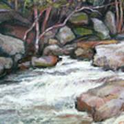 Rocky River Art Print