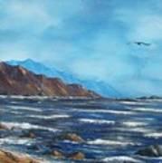 Rocky Shores Art Print