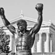 Rocky Statue - Philadelphia Art Print by Brendan Reals