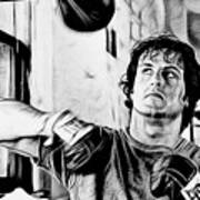 Rocky Sylvester Stallone Collection Art Print
