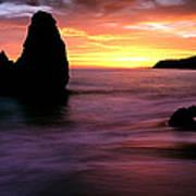 Rodeo Beach At Sunset, Golden Gate Art Print