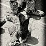 Rodeo Boots And Spurs Art Print