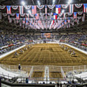Rodeo Time In Texas Art Print