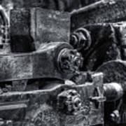 Rods Of Steel Art Print