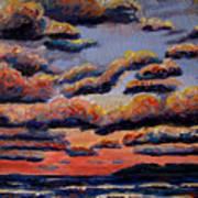Roiling Skies Art Print