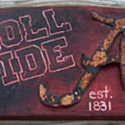 Roll Tide Alabama Art Print
