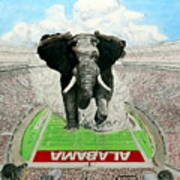 Roll Tide Art Print by Martin Lagewaard