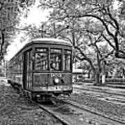 Rollin' Thru New Orleans 2 Bw Art Print