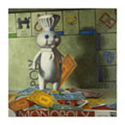Rolling In Dough Art Print by Judy Sherman