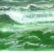Rolling Ocean Waves Art Print
