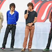 Rolling Stones In Nyc Art Print