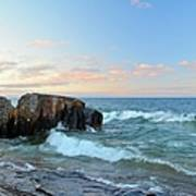 Rolling Waves On Superior Art Print
