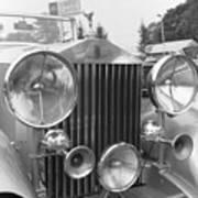 Rolls Royce A1 Used Car Art Print