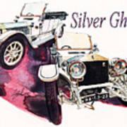 Rolls Royce Silver ghost                          Art Print