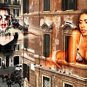 Roma Beauty Art Print