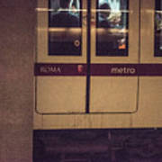 Roma Metro Art Print