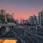 Roma Station Art Print