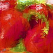 Roma Tomatoes Art Print