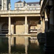 Roman Baths Art Print