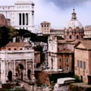 Roman Forum Art Print by Warren Home Decor