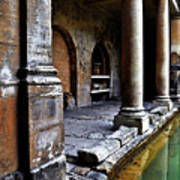 Roman Pillars  Art Print