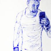 Roman Selfie Art Print