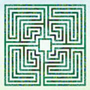 Roman - The Green Path Art Print
