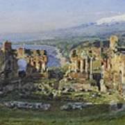 Roman Theatre Art Print