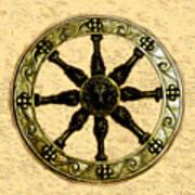 Roman Wheel Art Print