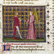 Romance Of The Rose Art Print