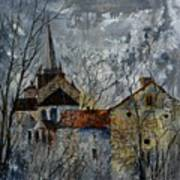 Romanesque Church  Art Print