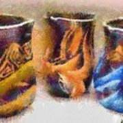 Romanian Vases Art Print