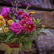 Romantic Bouquet 3 Art Print
