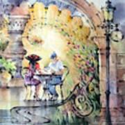 Romantic Dinner Art Print