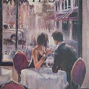 Romantic Meeting 2 Art Print