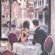 Romantic Meeting 3 Art Print
