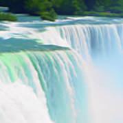 Romantic Skies Niagara Falls 2  Art Print