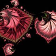 Romantically Jewelled Abstract Art Print