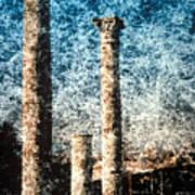 Rome - 3 Classic Colums Art Print