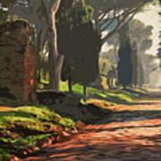 Rome, Appian Way - 05 Art Print