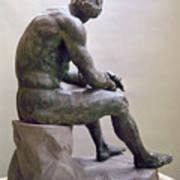 Rome Boxer Sculpture Print by Granger