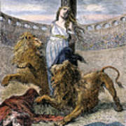 Rome: Christian Martyrs Art Print