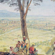 Rome From Monte Mario Art Print