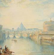 Rome Art Print by Joseph Mallord William Turner